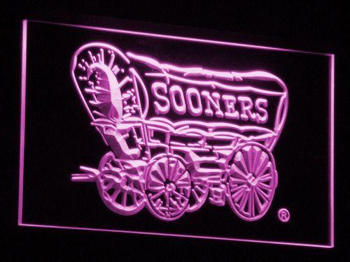 Oklahoma Sooners 1952-1966 LED Neon Sign - Legacy Edition