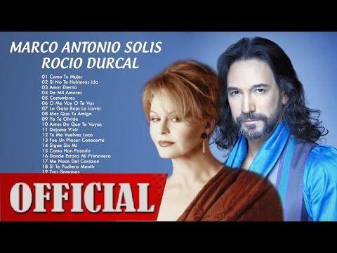 Marco Antonio Solis Y Rocio Durcal Sus Mejores Exitos 2016 Mix