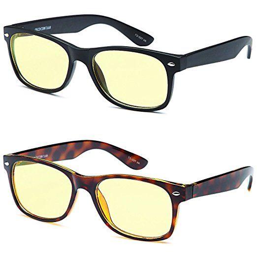 AV SuperPak 2 Pack Computer and Gaming Glasses for Monitor Screen Eye  Strain Relief Anti Glare f15f1ccf7edc