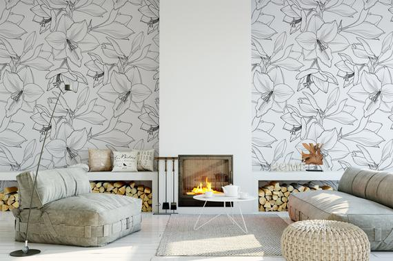 High Quality Peel And Stick Removable Self Adhesive Wallpaper Etsy Peel And Stick Wallpaper Home Wallpaper Self Adhesive Wallpaper