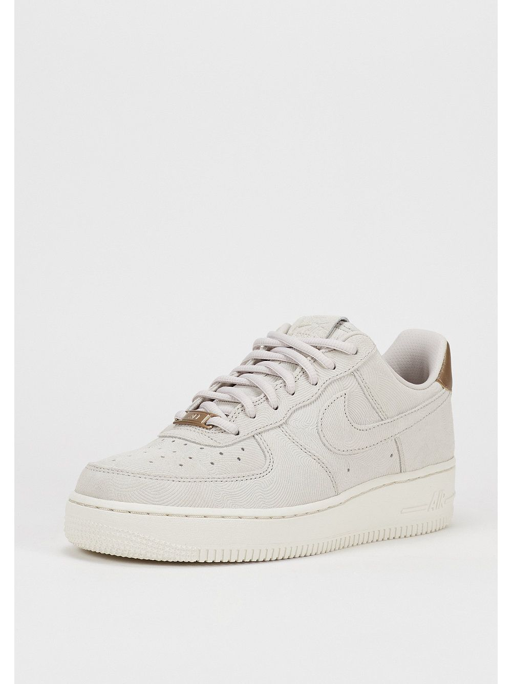 best website c9484 6474b NIKE Schuh Wmns Air Force 1 07 Premium Suede gamma grey/gamma grey/Phantom  > perfect ♥