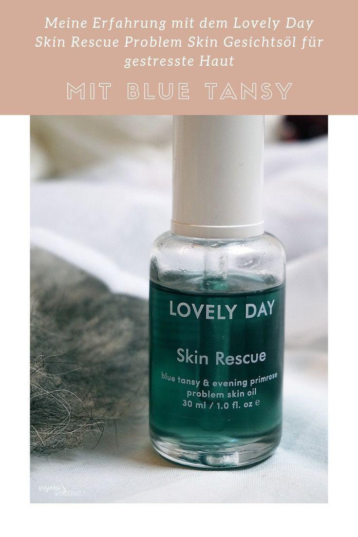 Erfahrungen mit dem Lovely Day Skin Rescue Problem Skin Gesichtsöl für gestres…
