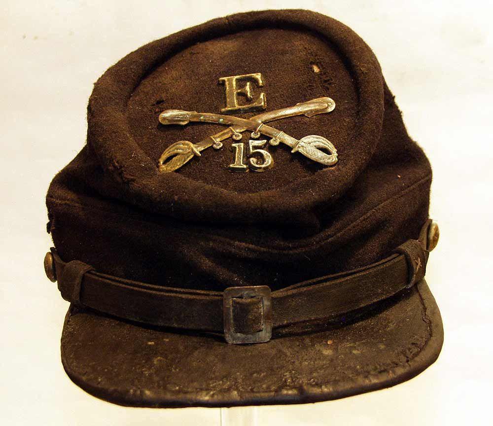 b52577ee American Cavalry Kepi from the US Civil War | Civil War | Civil war ...
