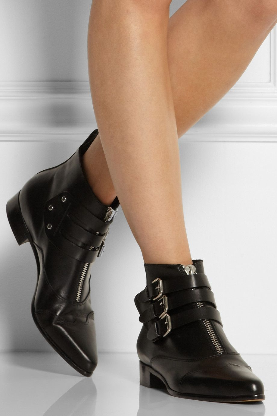 Tabitha Simmons Leather Boots 2ty5vrFIRk