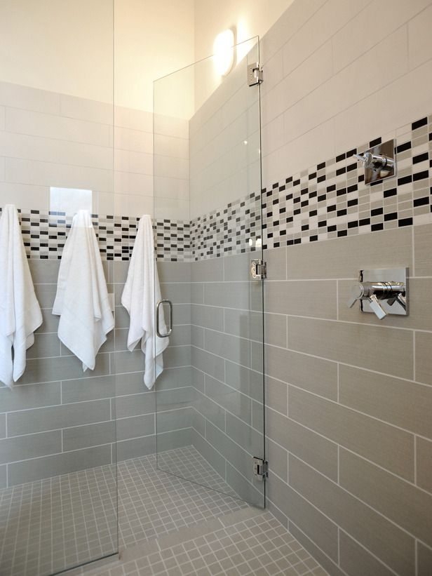 Exceptional Contemporary Bathrooms From Linda Woodrum On HGTV. Hmm, An Area Within The  Shower To