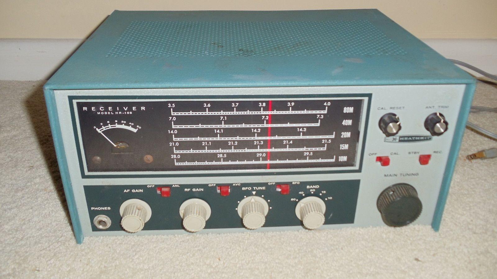 Heathkit Hr 10b The Old Tube Radio Archives Ham Radio Diy
