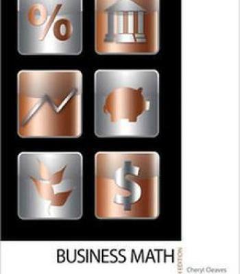 Business Math 9th Edition PDF