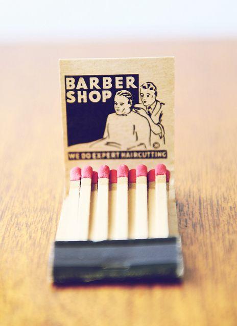 inspired by: Matchbooks - Barber Shop