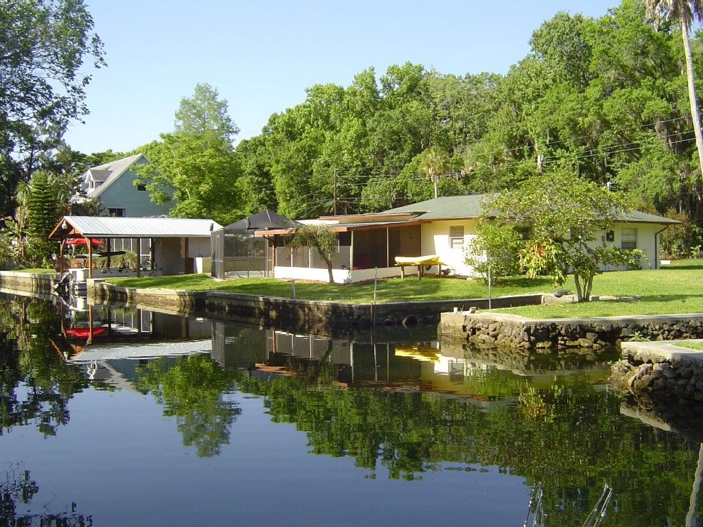 Crystal River House Rental Glorious Waterfront Location