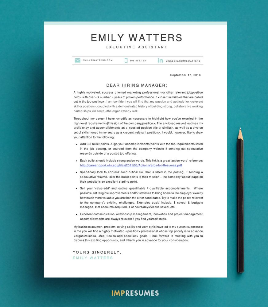How To Make An Excellent Resume How To Quickly Write A Killer Cover Letter Writing Process .
