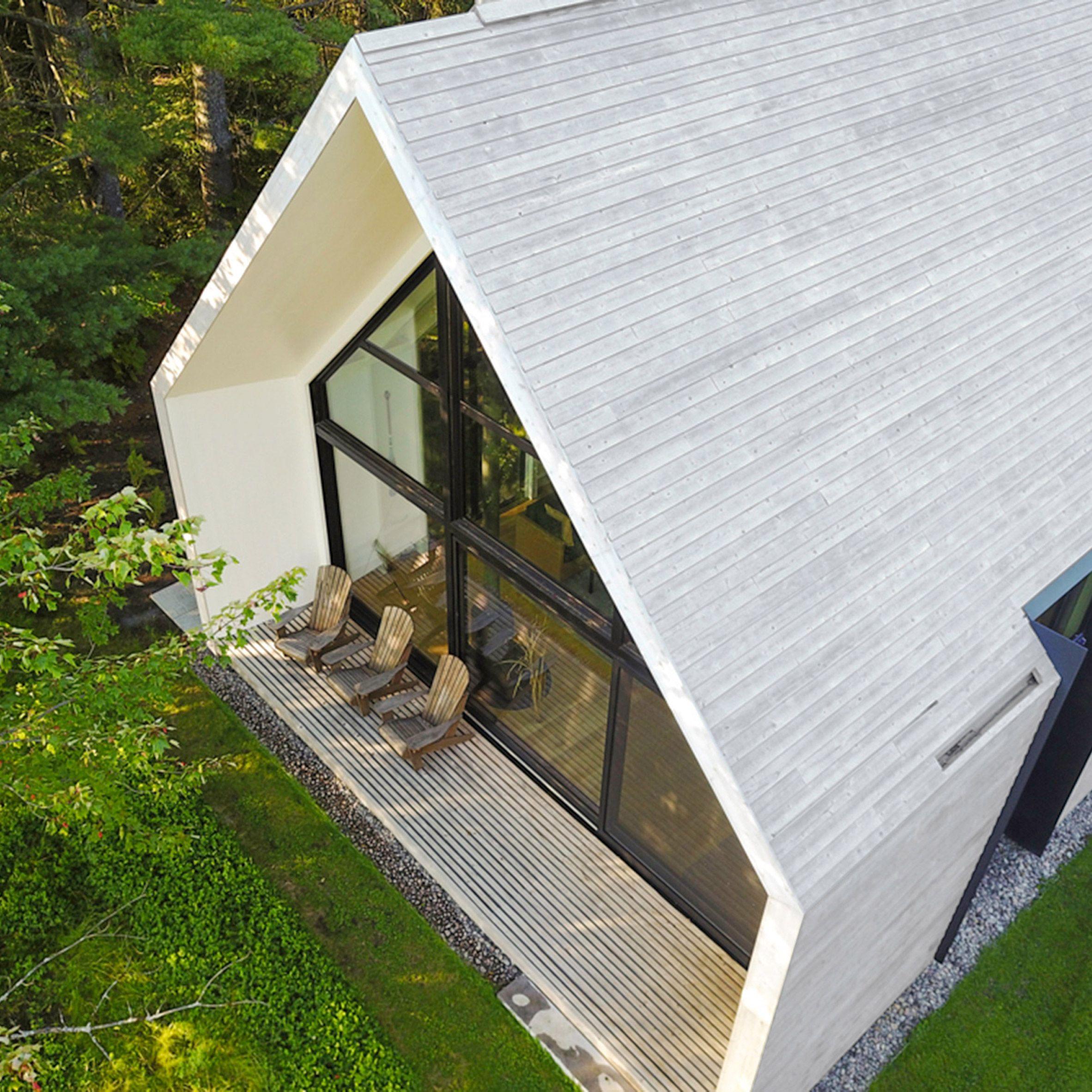 Cedar Cladding, Wooden Cottage