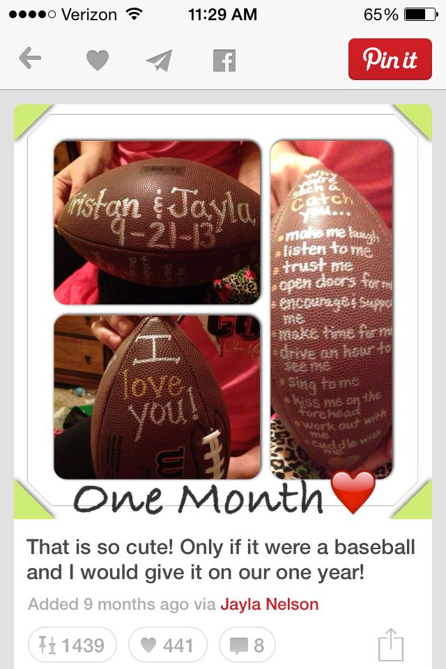 Football Best Boyfriend Gifts Boyfriend Anniversary
