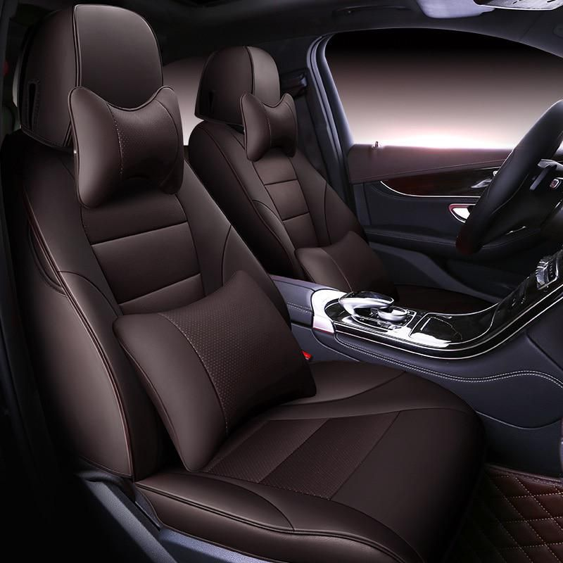 Custom Cowhide Car Seat Cover For 7 Seat Mercedes Benz Gls Gl 350