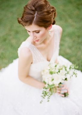 beauty, floral, bouquet, updo, natural, glamorous , hairstyles, up-do, Spring, romantic , dress, southern, wedding