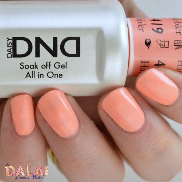 Daisy Gel Polish Havin Cabbler 419 Nail Polish Peach Nails Nail Polish Colors