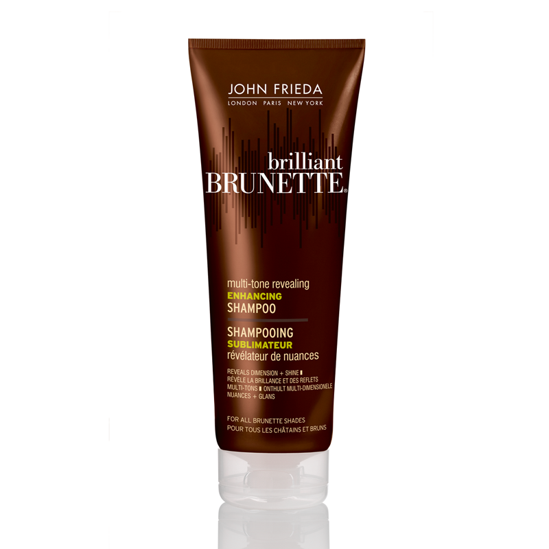 John Frieda Brilliant Brunette Multi-Tone Revealing Enhancing Shampoo for all Brunettes 250ml - feelunique.com