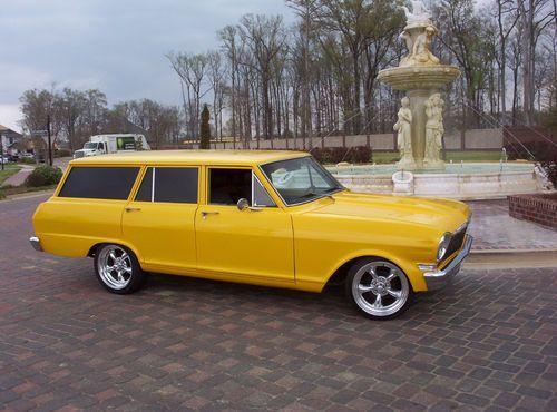 Purchase New 1964 Chevy Nova Wagon 350 A C Automatic New
