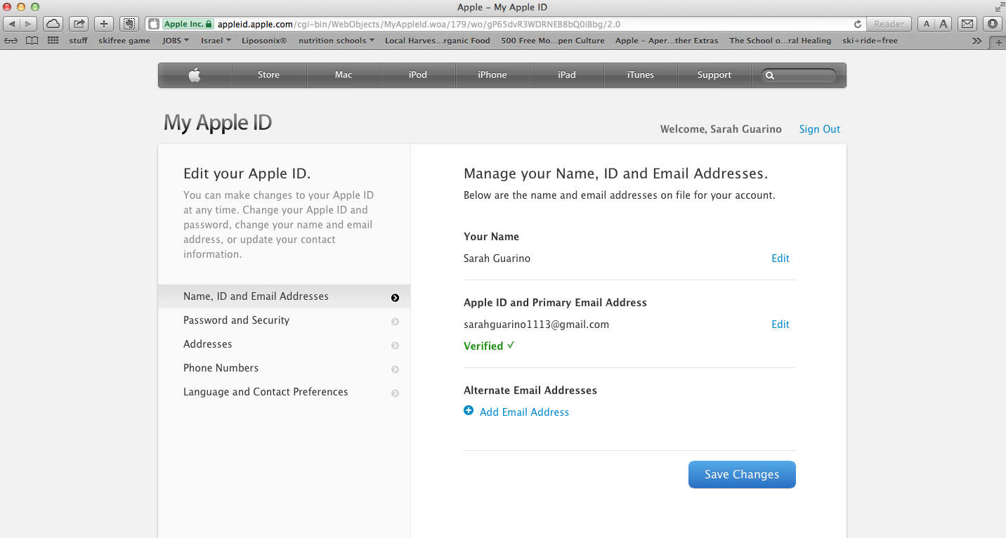Change Your Apple ID From Associated Accounts Apple