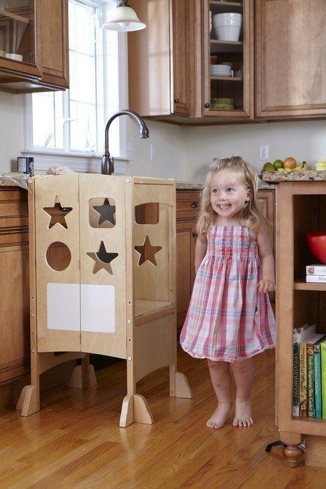 10 Platforms For Little Kitchen Helpers | Kitchen Helper, Baby Helpers, Little Kitchen