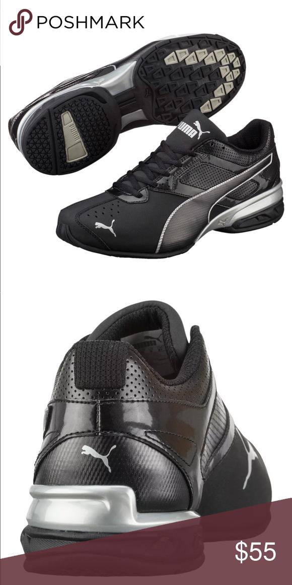 MEN'S PUMA TAZON 6 Soft Foam Sneakers, New Black Silver