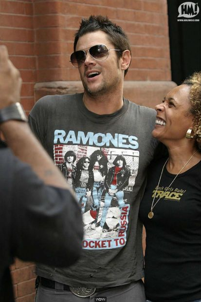 9c681a4c072f Johnny Knoxville wears The Ramones