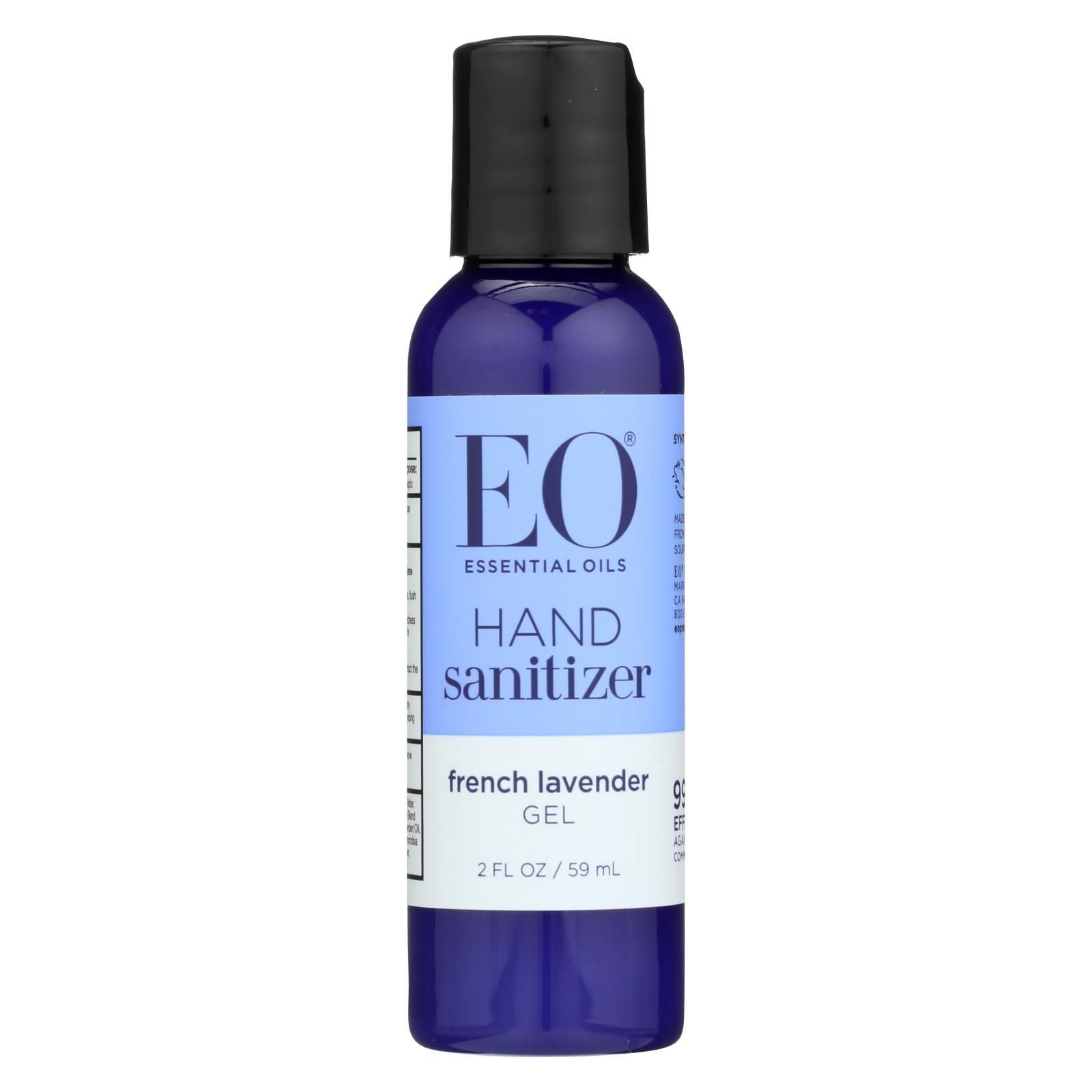 Eo Products Hand Sanitizer Organic Lavender 2 Fl Oz Case Of