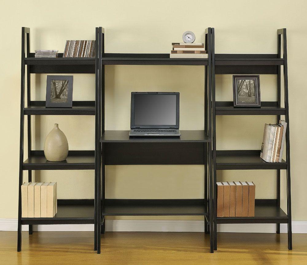 Altra Ladder Bookshelf Desk Combo