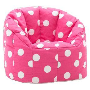 Admirable Kids Bean Bag Chair Fun Pink Flexible Seating For Office Pabps2019 Chair Design Images Pabps2019Com