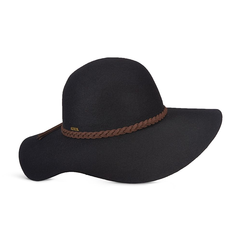 Women s Scala Wool Felt Braided Band Floppy Hat  64c50369277