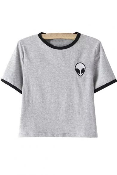 alien pocket tee  alien space grunge grunge punk hipster fachin tee tshirt top under30 under20 bh bella