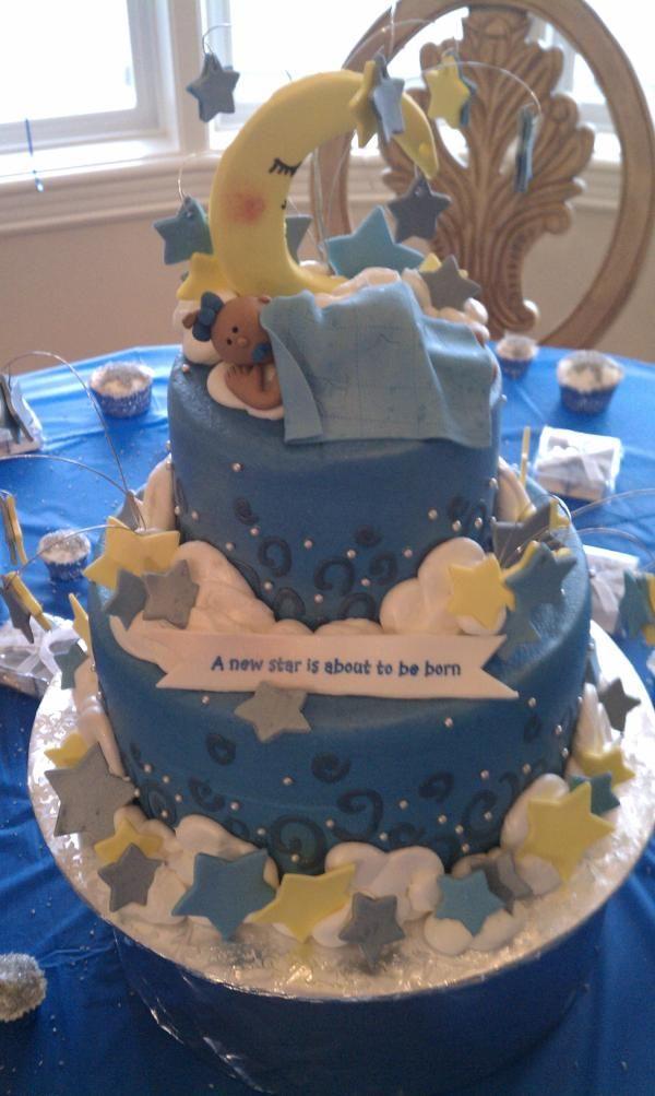 sister's baby shower cake.