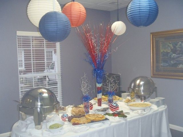 A very Fourth themed open house