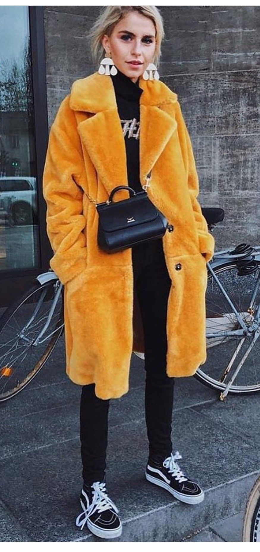 Faux Fur OutfitsVest Yellow Coat 2019Winter In mN8nw0