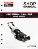 Honda HRX217 HMA HXA TDA Lawn Mower Service Repair Shop Manual - http://wp.me/p4YbT8-2r9