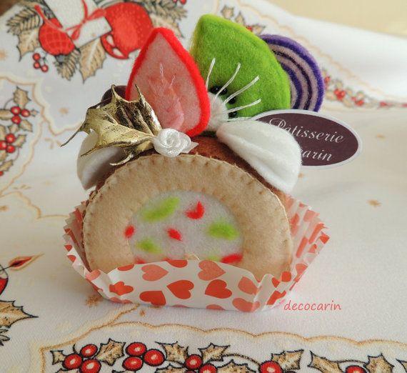 Ready Gift, Felt Cake, Felt Food, Felt Home Party Decor Table Decoration Ornament, Birthday Gift, Felt Decor, Collectibles, Felt, Patisserie