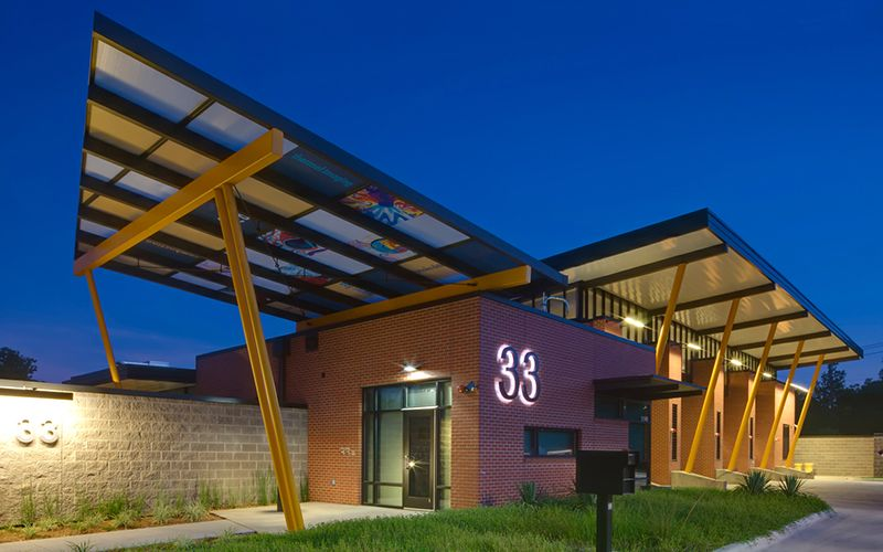 Brown Reynolds Watford Architects Dallas Fire Station