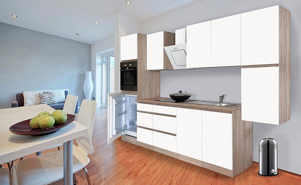 Respekta Küchenzeile mit EGeräten »Boston«, Breite 320 cm