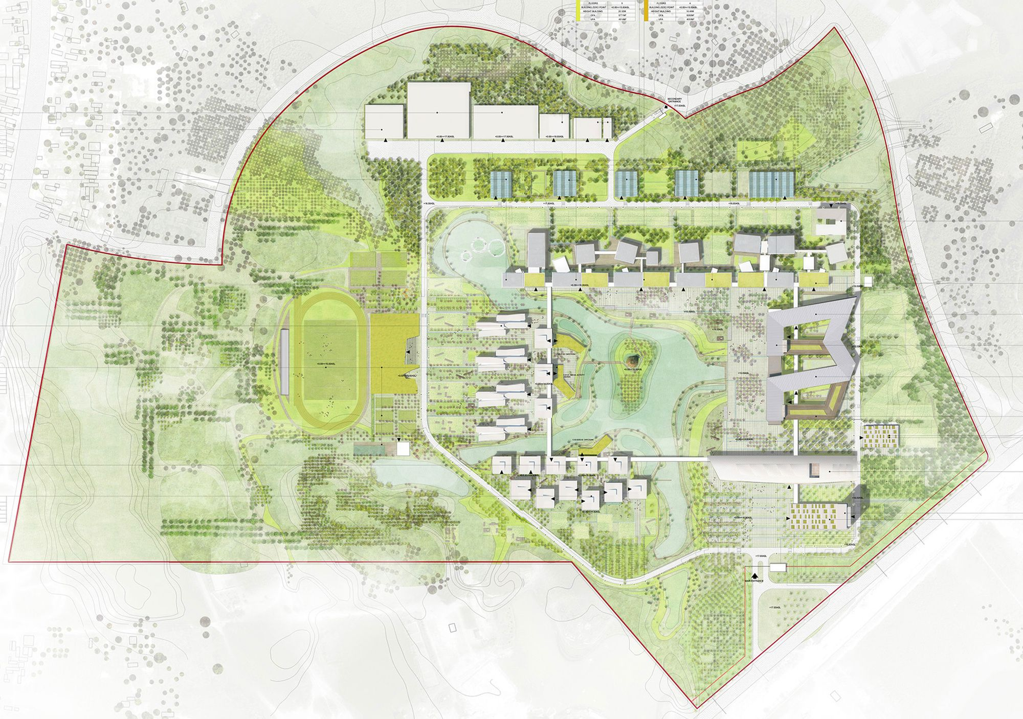 Gallery Of As Architecture Studio And Vha Architects Unveil Green University Campus Plan In Vietnam 11 University Campus University Architecture Campus Landscape Design