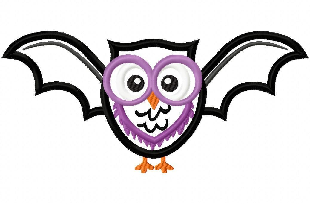 Hang to Dry Applique - Batty Owl, $3.99 (http://www.hangtodryapplique.com/batty-owl/)