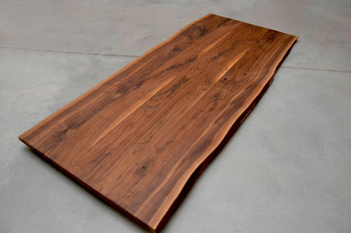 Nussbaum Tischplatte Mit Bildern Massivholz Tischplatte