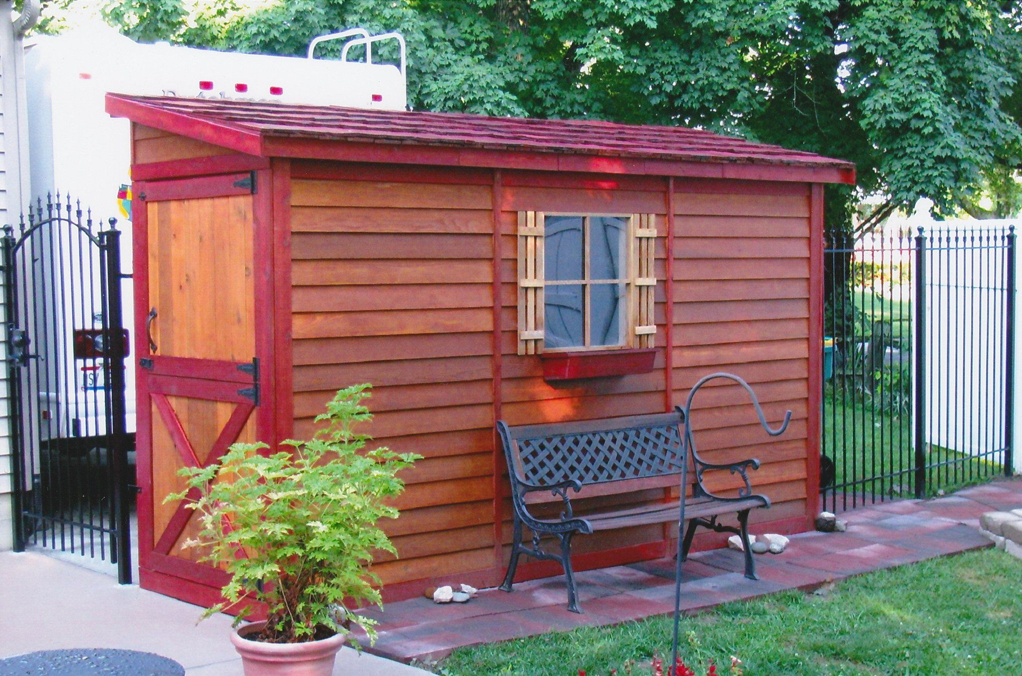 Bayside diy lean to storage sheds for sale building a