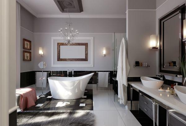 Luxus Badezimmer Badewanne