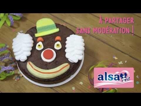 Gâteau clown   Alsa pour tous, Tous pour Alsa