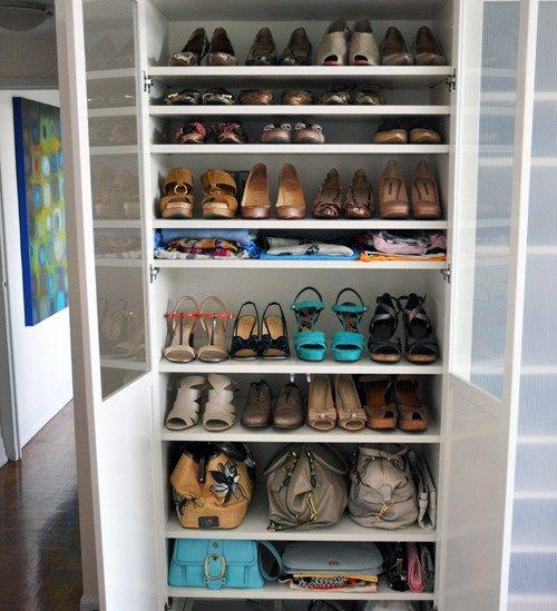 Estantería IKEA Billy para guardar zapatos   IKEA   Pinterest ...