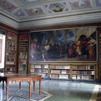 Biblioteca dell'Abbazia di Vallombrosa, Reggello (Fi)