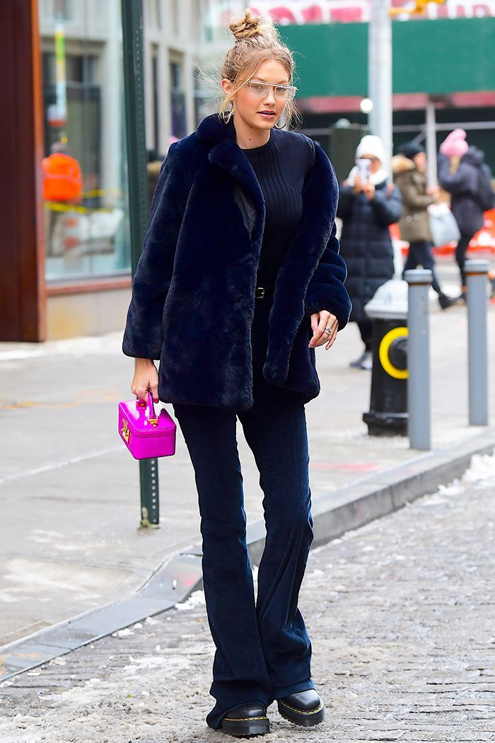 Gigi Hadid Is Ready to Bring This Retro Denim Trend Back, But Are You? #gigihadid