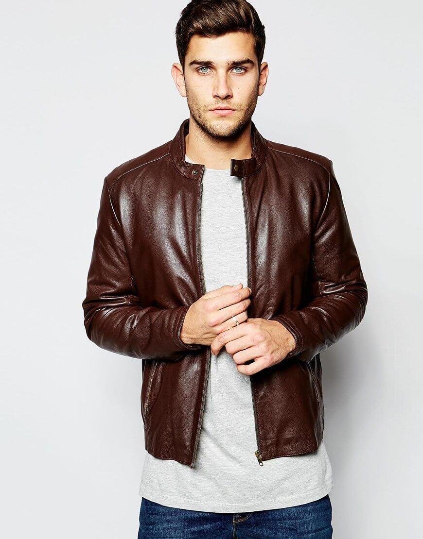 98349aa3362 The Leather Jacket - Men's Wardrobe Essentials | Hunks | Lambskin ...