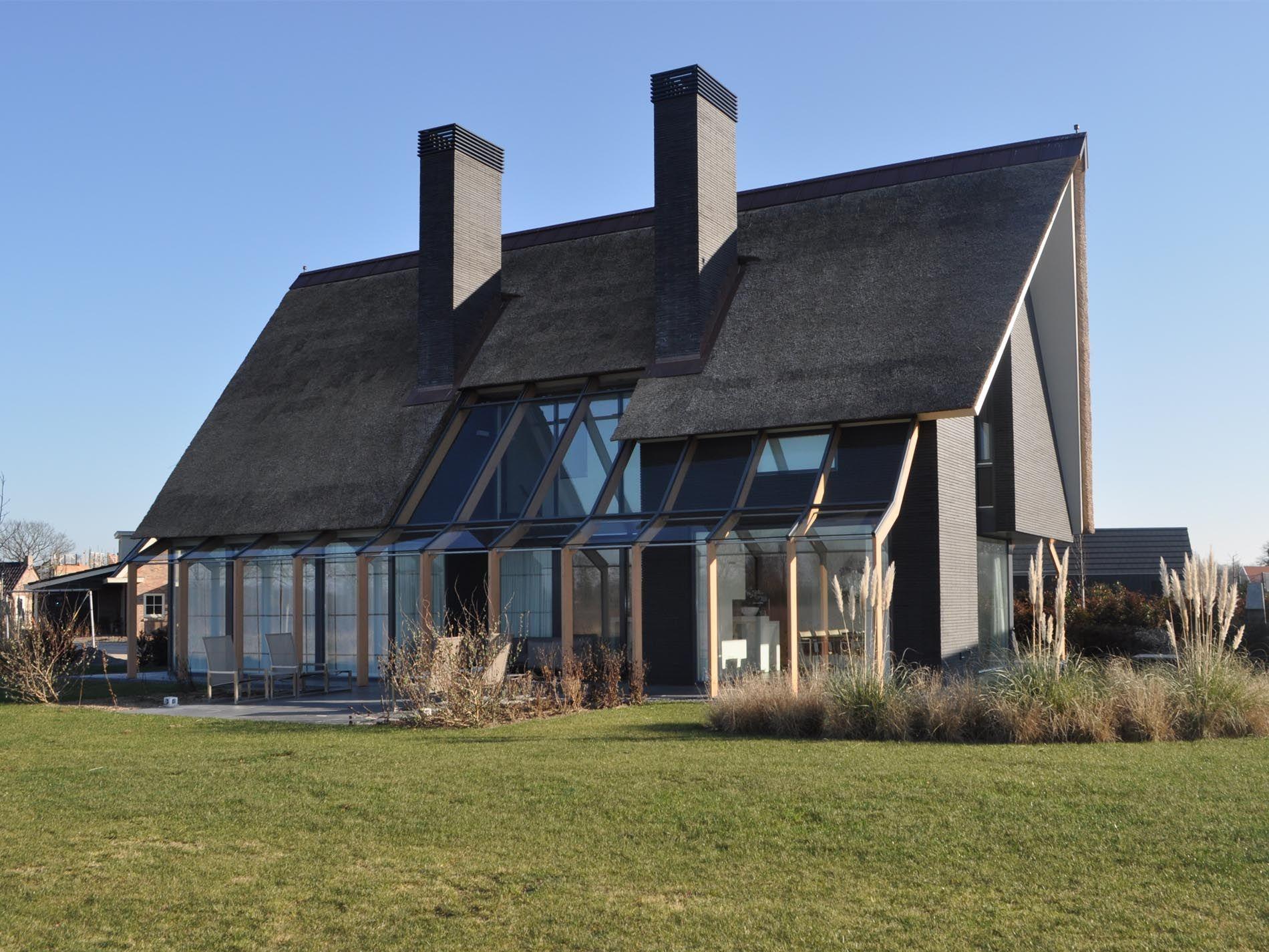 Maas architecten woonhuis hengelo architectuur for Hedendaagse architecten