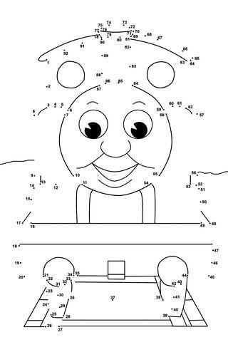 Point point thomas et ses amis cat gories dessins anim s coloriages gratuits imprimer - Thomas et ses amis dessin anime ...