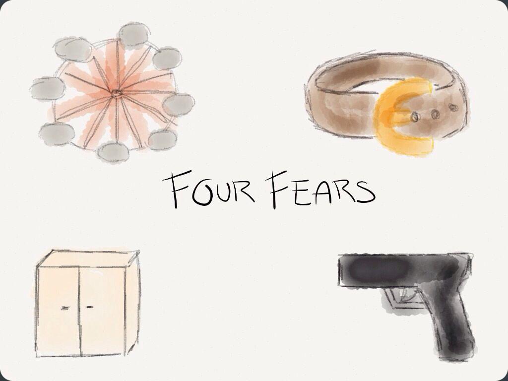Tobias Eaton's Four Fears Divergent